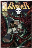WRIGHTSON, BERNI & JOE JUSKO - Punisher #4 painted cover w/ logo overlay  Comic Art